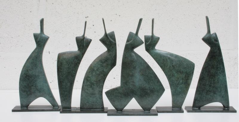 ANNETTE-JALILOVA_(85) Les Pleiades h 26x 60cm