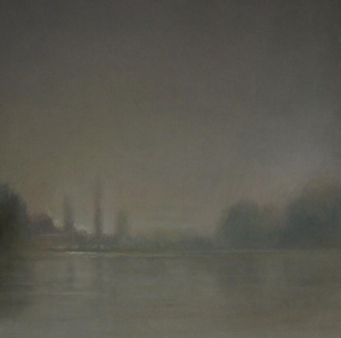 """""""Amstel"""" (174), olieverf op linnen, 70 x 70cm"""