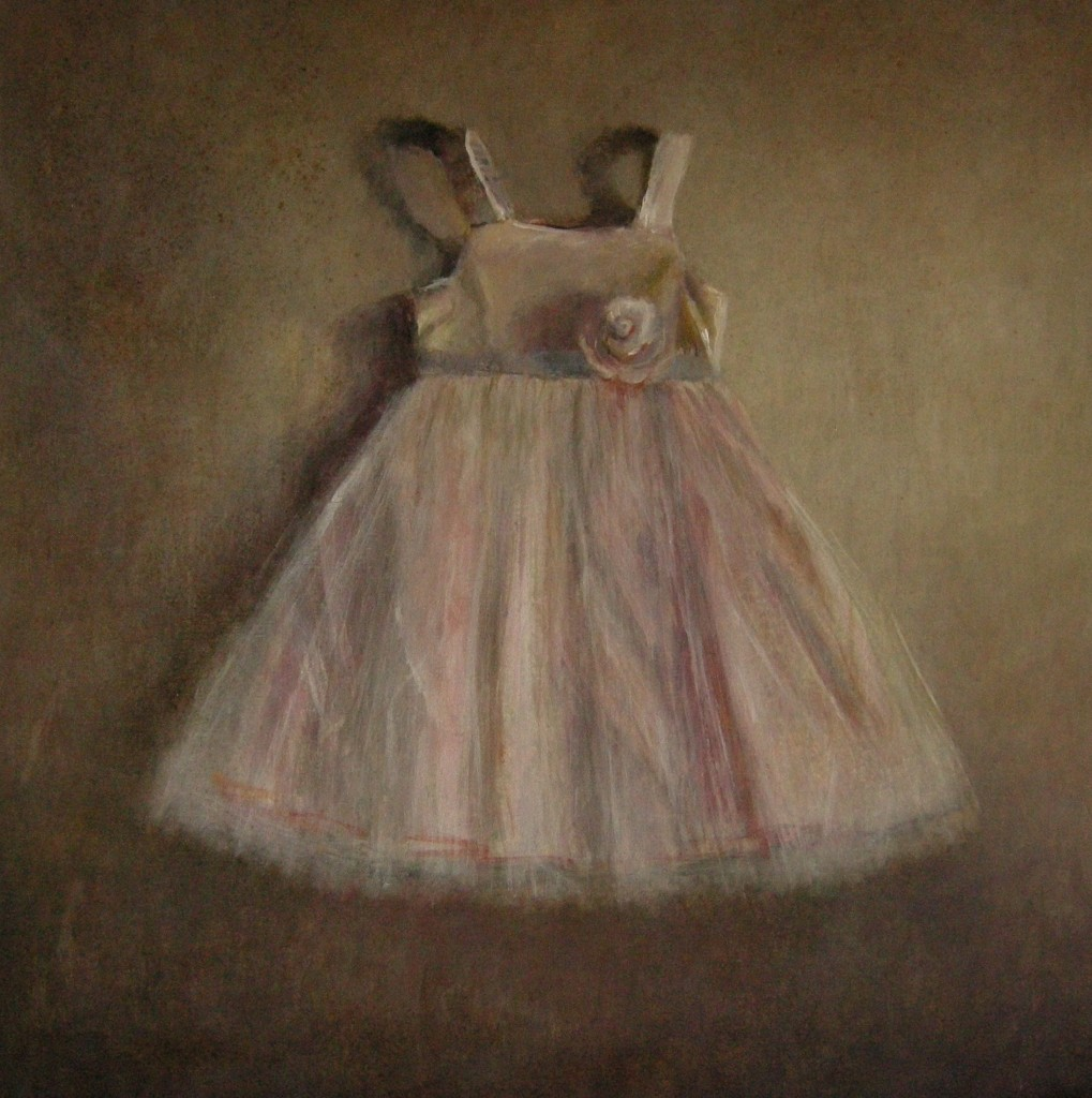 Anneke Elhorst. Prinsessenjurk, 100 x 100 cm, 2013