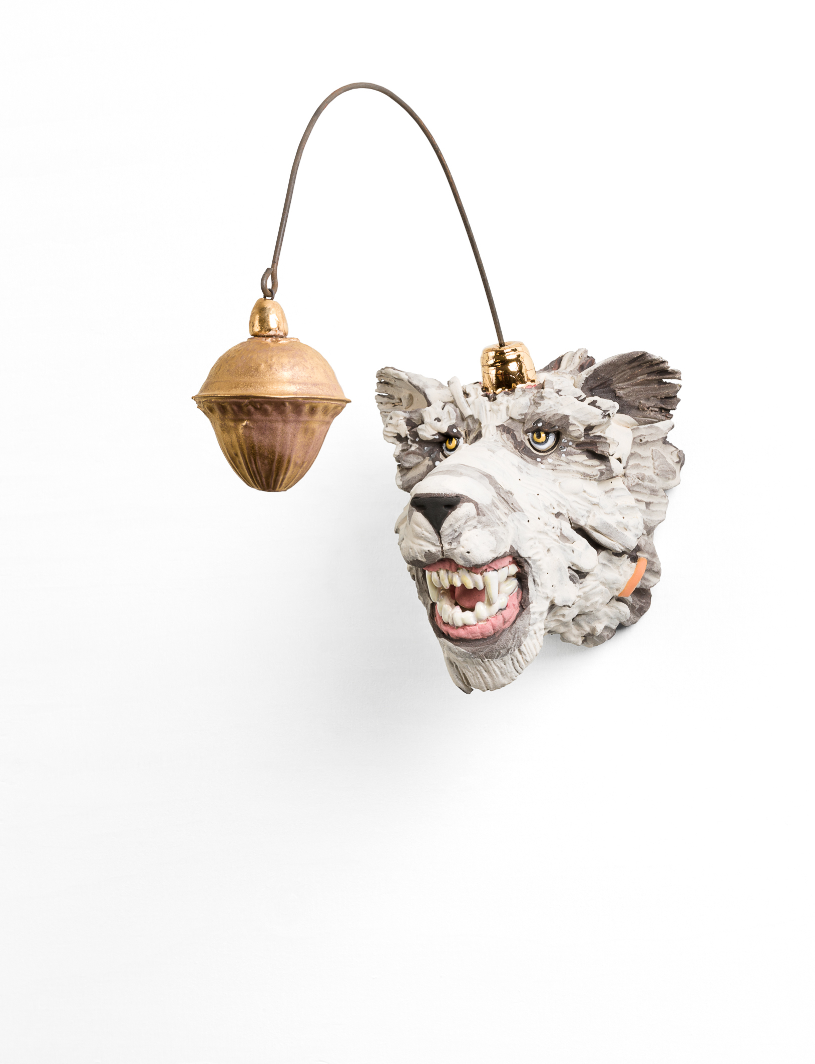 'Boze ijsbeer', keramiek