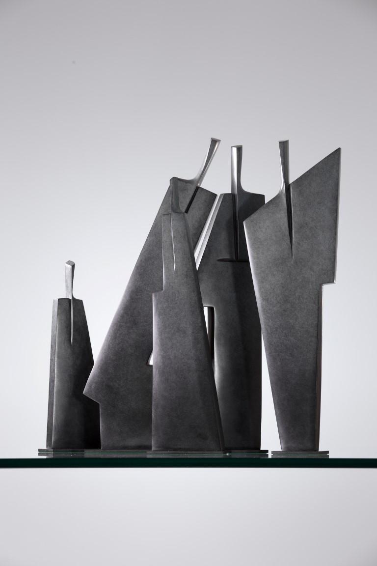 """Calligraphie"", brons, 2016"