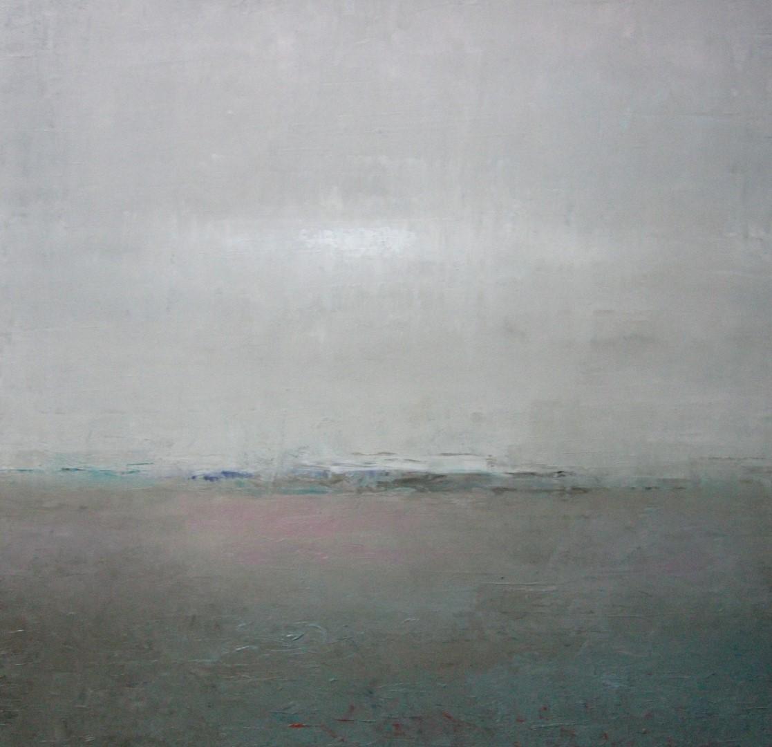"""Horizon"" (306), olieverf op linnen, 47 x 49cm"