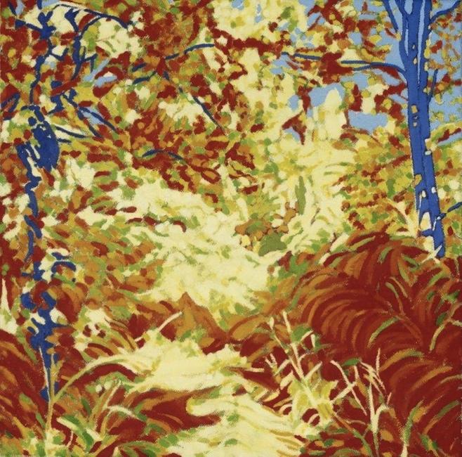 NORA-THOLHUIJSEN_Lissac (F) VII, olieverf op linnen, 40 x 40cm (2)