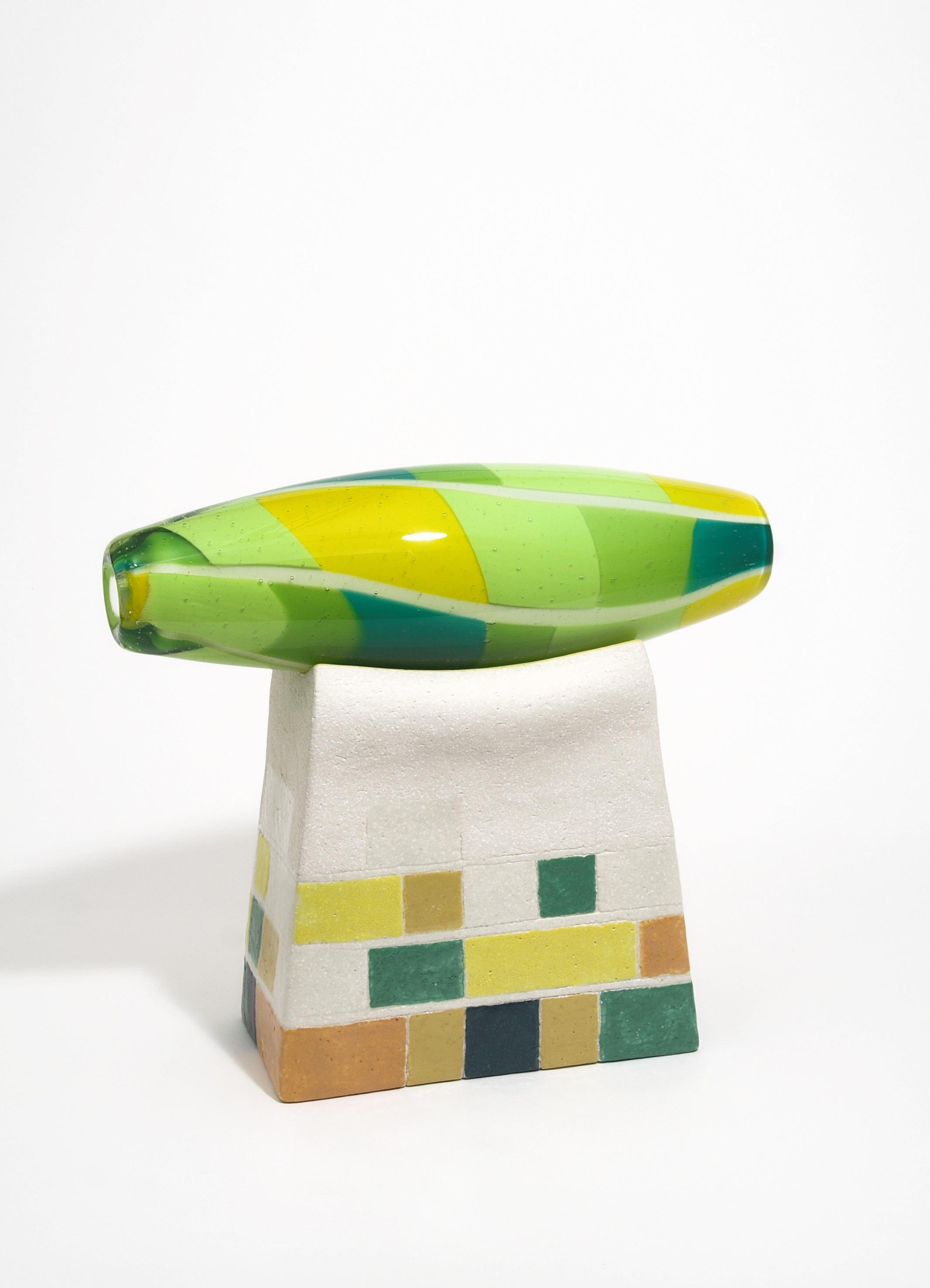 blown glass (roll-up) / ceramics