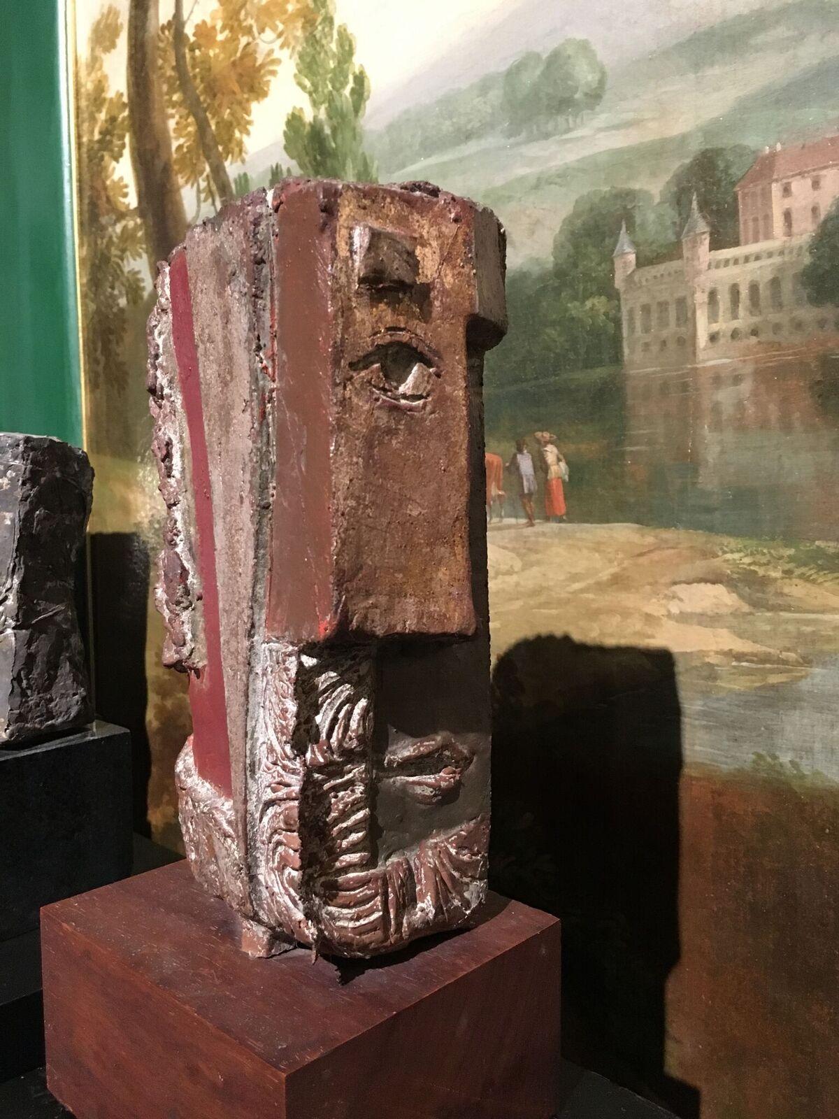 HERFST (40) brons pulychroom h 35 cm incl sokkel 4.500,-_preview